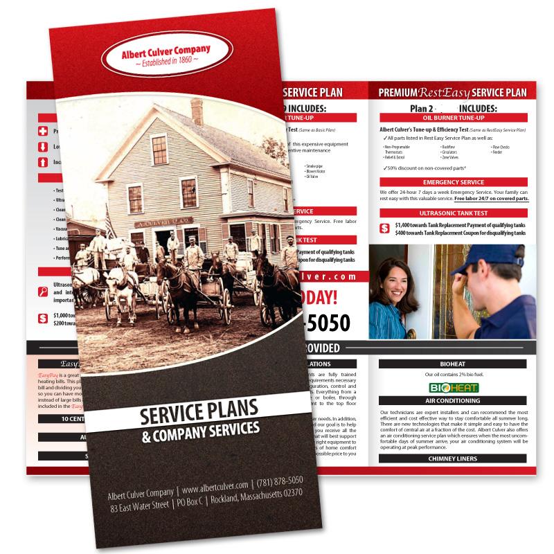 Albert Culver Oil Heating Service Plans Albert Culver